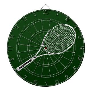 テニスラケット ダーツボード