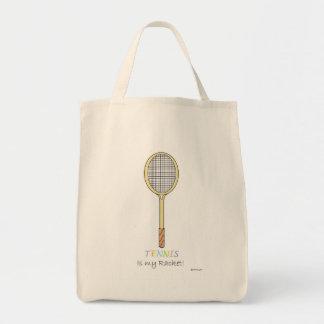 テニスラケット トートバッグ