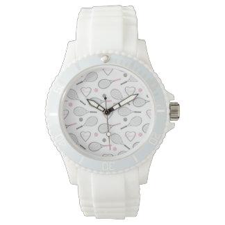 テニス愛パターン 腕時計