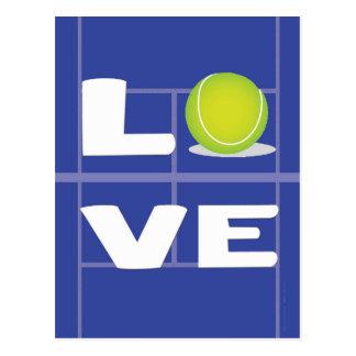 テニス愛 ポストカード