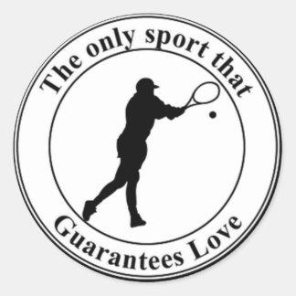 テニス愛 ラウンドシール