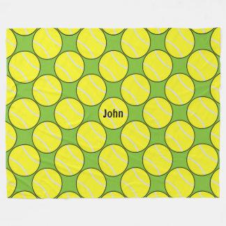 テニス毛布 フリースブランケット