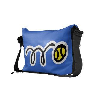 テニス選手のためのカスタムなメッセンジャーバッグ メッセンジャーバッグ
