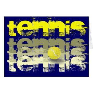 テニス選手の誕生日 グリーティングカード