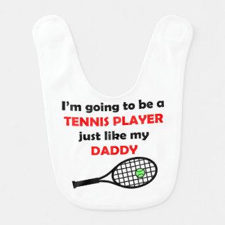 テニス選手は私のお父さんを好みます ベビービブ