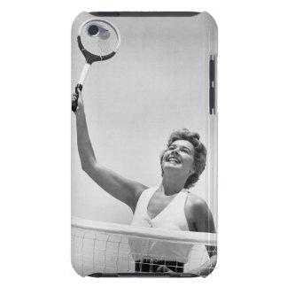 テニス2を遊んでいる女性 Case-Mate iPod TOUCH ケース