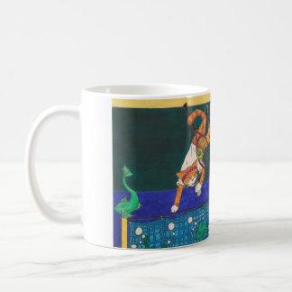 テニス2ボルト1 コーヒーマグカップ