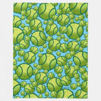 テニス フリースブランケット