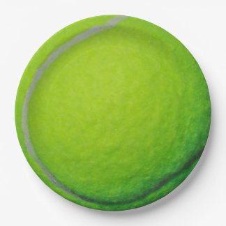 テニス ペーパープレート