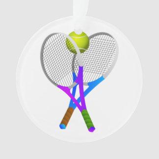 テニス・ボールおよびラケット オーナメント