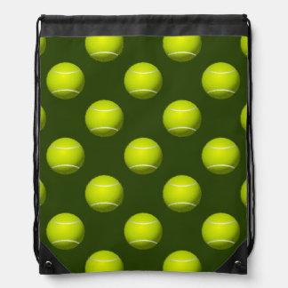 テニス・ボールのスポーツ ナップサック