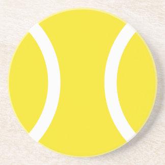 テニス・ボールの砂岩飲み物のコースター コースター