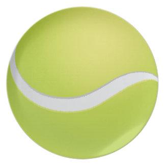 テニス・ボール ディナープレート
