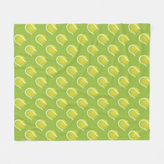 テニス・ボール フリースブランケット