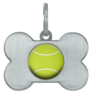 テニス・ボール ペットネームタグ