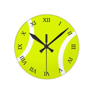 テニス・ボール ラウンド壁時計