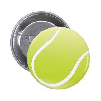 テニス・ボール 5.7CM 丸型バッジ