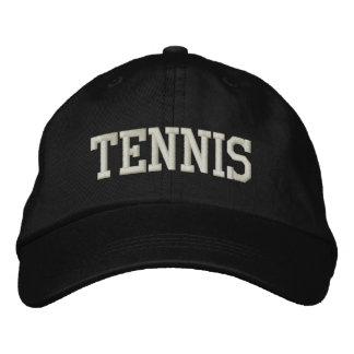 テニス 刺繍入りキャップ