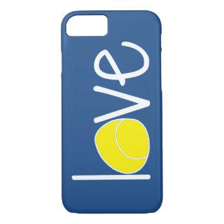 """テニス""""愛"""" iPhoneの場合 iPhone 7ケース"""
