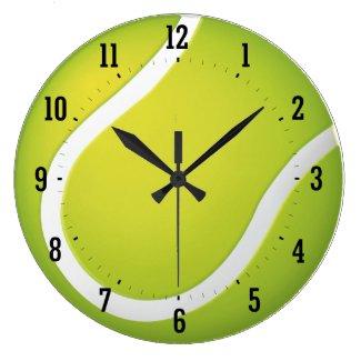 テニス-柱時計