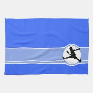 テニス; 青い キッチンタオル