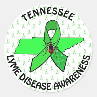 テネシー州のステッカーのライム病の認識度 ラウンドシール