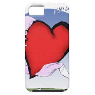テネシー州のヘッドハート、贅沢なfernandes iPhone SE/5/5s ケース
