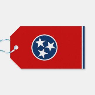 テネシー州の国家、米国の旗が付いているギフトのラベル ギフトタグ