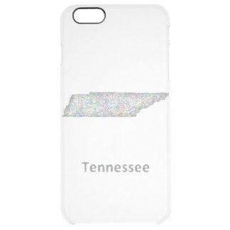 テネシー州の地図 クリア iPhone 6 PLUSケース