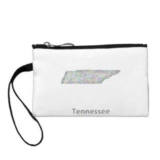 テネシー州の地図 コインパース
