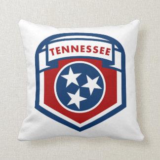 テネシー州の州の旗の頂上の盾のスタイル クッション