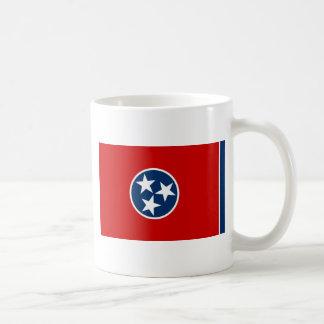 テネシー州の州の旗 コーヒーマグカップ