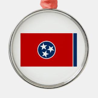 テネシー州の州の旗 メタルオーナメント