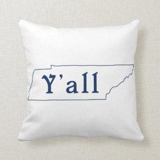 テネシー州の州の枕テネシー州の装飾用クッション クッション