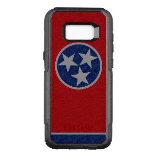 テネシー州の旗 オッターボックスコミューターSamsung GALAXY S8+ ケース