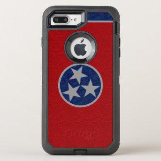テネシー州の旗 オッターボックスディフェンダーiPhone 8 PLUS/7 PLUSケース