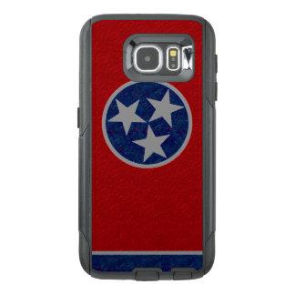 テネシー州の旗 オッターボックスSamsung GALAXY S6ケース