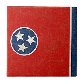 テネシー州の旗 タイル