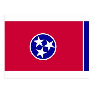 テネシー州の旗 ポストカード