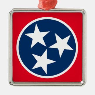 テネシー州の旗 メタルオーナメント