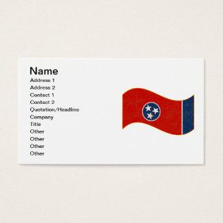 テネシー州の旗 名刺