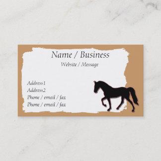 テネシー州の歩くの馬の旗のプロフィール 名刺