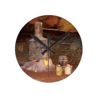 テネシー州の蒸留酒製造所 ラウンド壁時計