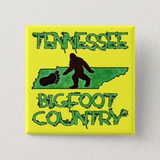 テネシー州はビッグフットの国です 5.1CM 正方形バッジ