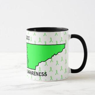テネシー州ライム病の認識度のコーヒー・マグ マグカップ