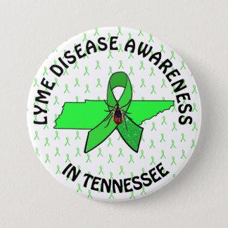 テネシー州ライム病の認識度ボタン 缶バッジ