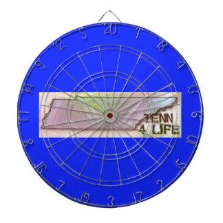 """""""テネシー州4生命""""の州の地図のプライドのデザイン ダーツボード"""