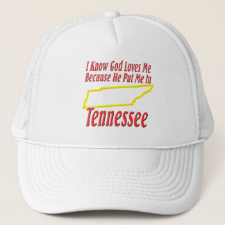 テネシー州-神は私を愛します キャップ