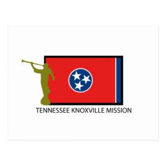 テネシー州KNOXVILLEの代表団LDS CTR ポストカード