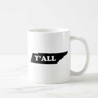 テネシー州Yall コーヒーマグカップ
